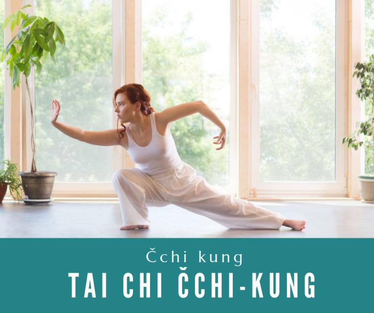 Tai chi Čchi-Kung<br>pravidelné cvičení<br>každé pondělí<br>09:00 –10:30<br>3.240Kč (18 lekcí)<br>pro ženy